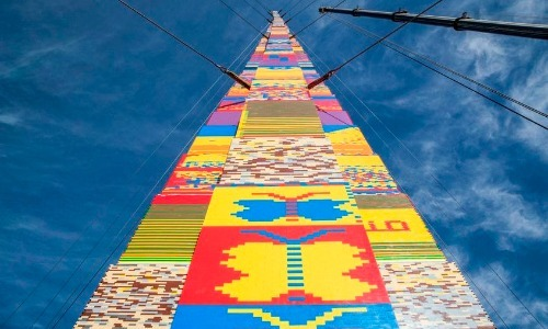 The Tallest LEGO Tower Is 112 Feet High